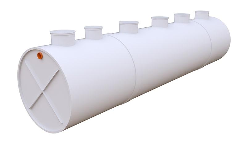 автономная канализация для 250 человек