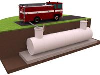 пожарная емкость
