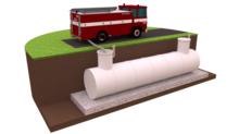 пожарные полипропиленовые резервуары