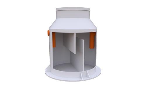 жироуловитель вертикальный 1 литр в секунду