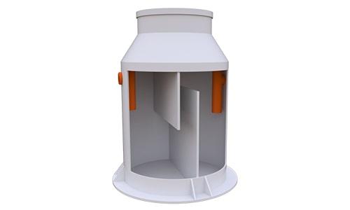 жироуловитель вертикальный 2 литра в секунду