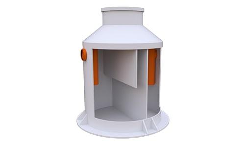жироуловитель вертикальный 3 литра в секунду