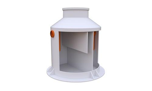 жироуловитель вертикальный 4 литра в секунду