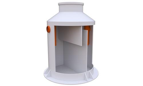 жироуловитель вертикальный 5 литров в секунду