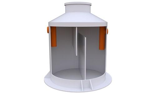 жироуловитель вертикальный 7 литров в секунду