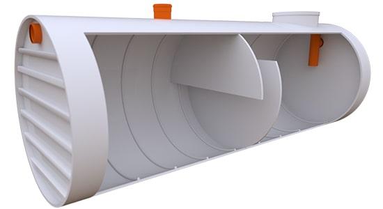 жироуловитель промышленный горизонтальный 25 литров в секунду