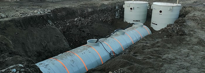 канализационные очистные сооружения КОС-ПП-УФ