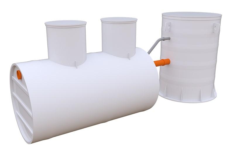 кос канализационные очистные сооружения производительностью 10 м3 в сутки
