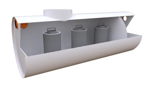 сорбционный фильтр для очистки сточных вод