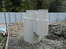 автономная канализация биосфера с принудительным водоотведением