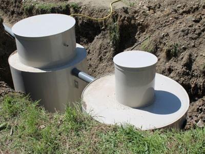 монтаж автономной канализации на 15 человек