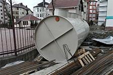 автономная канализация на 75 человек