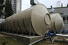 наземные полипропиленовые резервуары объемом 55 м3