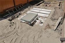 установка пластикового погреба в краснодаре